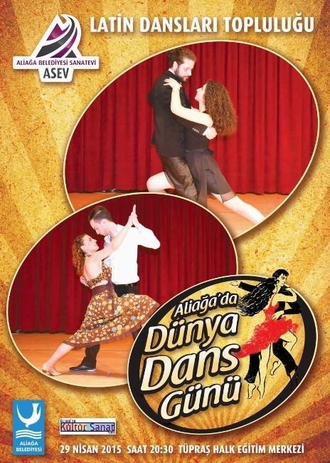 Dünya Dans Günü Aliağa'da Kutlanacak