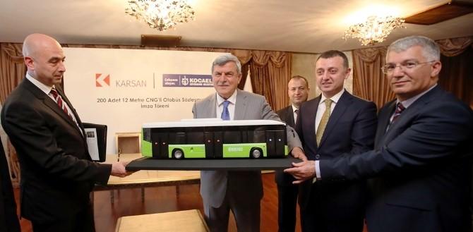 Kocaeli Ulaşımına Çevreci 200 Otobüs Katılacak