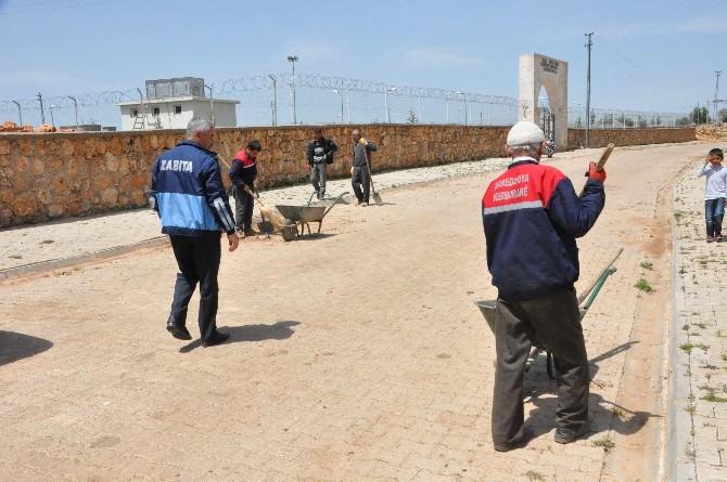 Dargeçit Belediyesi Köylerde Temizlik Çalışmaları Başlattı