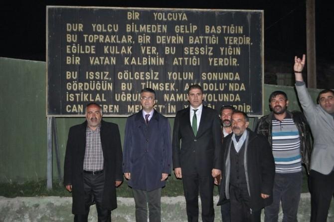 MHP Adayları Seçim Çalışmalarını Köylerde Sürdürdü