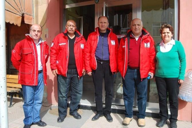 Türk Kızılayı Genel Başkanı Ahmet Lütfi Akar Malkara'da