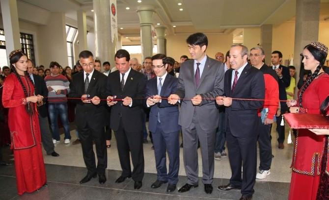 Büyük Selçuklu Mirası Sergisi Türkmenistan'da Açıldı