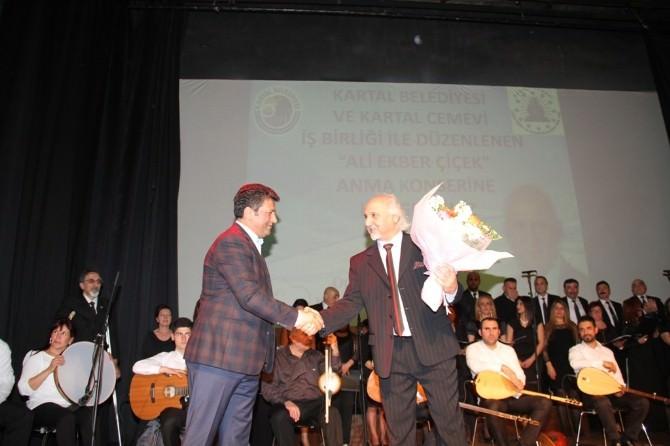 Ali Ekber Çiçek Kartal'da Türkülerle Anıldı