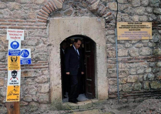 Amasya'da 3 Tarihi Cami Ve 1 Türbe Restore Edilecek