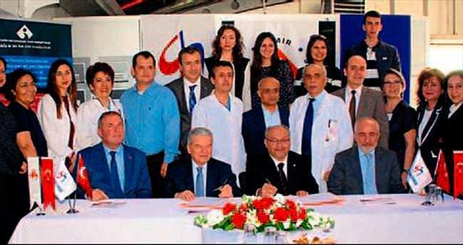 Gazi Hastanesi ile İEÜ işbirliği yaptı