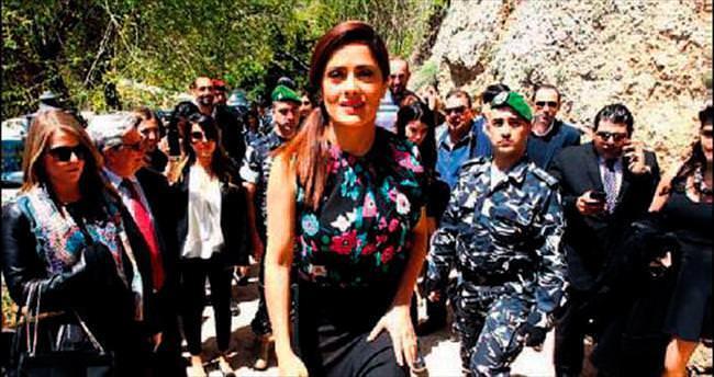 Salma Hayek ilk defa anavatanı Lübnan'da