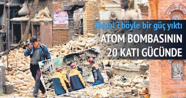 20 atom bombası gücünde