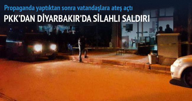 PKK'dan Diyarbakır'da silahlı saldırı