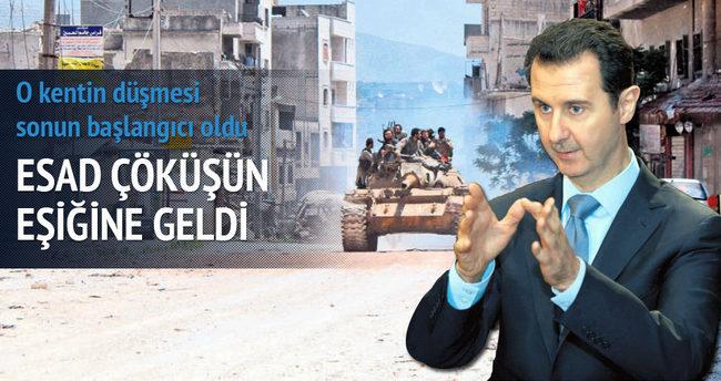 Esad rejimi çöküşün eşiğinde