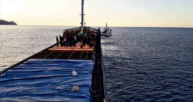 Göç yolunda 1 günde 633 kaçak yakalandı