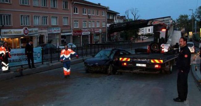 Başbakanlık Konutu yakınında kaza