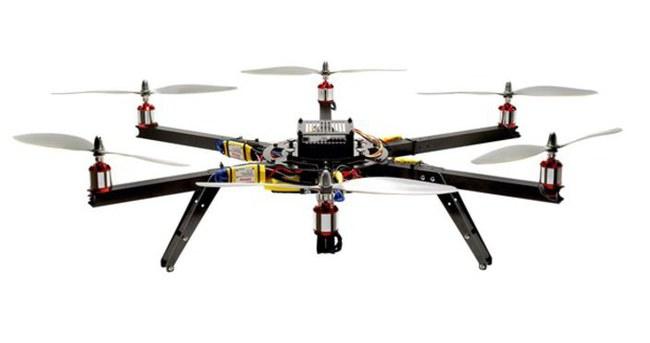 Kızını Drone ile takip etti!
