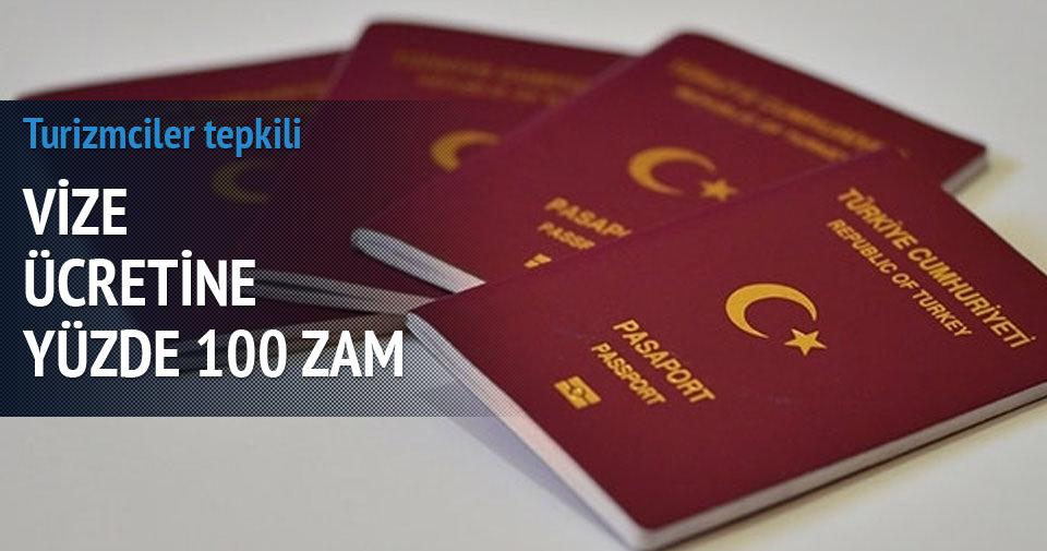Komşudan sınırda vizeye yüzde 100 zam!