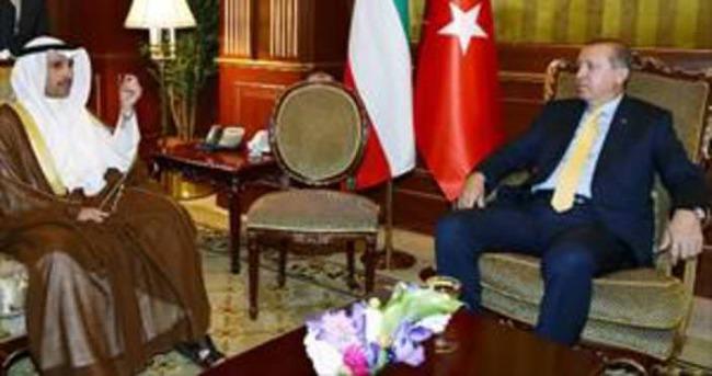 Erdoğan Meclis Başkanıyla görüştü