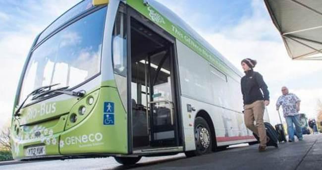 İnsan dışkısıyla çalışan otobüs!