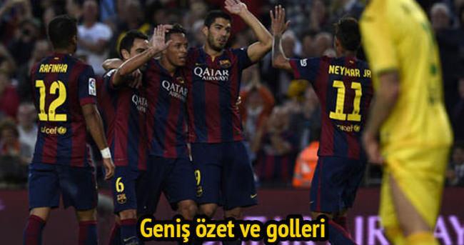 Barcelona-Getafe maçı 6-0 bitti! İşte geniş özeti ve golleri