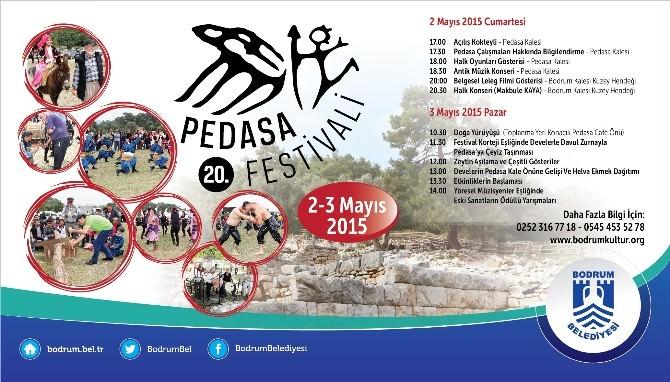 20. Pedasa Festivali 2 Mayıs'ta Başlıyor