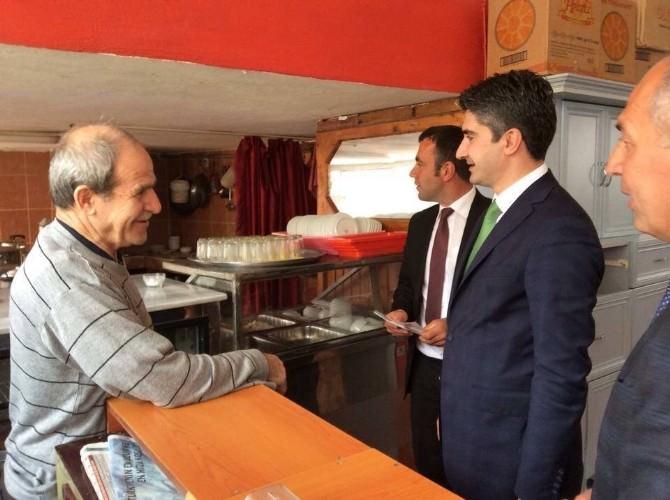 Zafer Tarıkdaroğlu, Seçim Çalışmalarını Pazaryolu'nda Sürdürdü