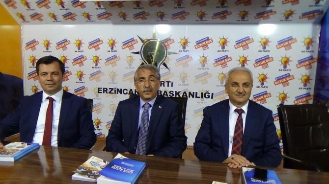 """AK Parti İl Başkanı Bulut; """"Bize Bir Milletvekili Yetmiyor"""""""
