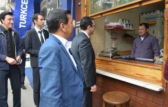 AK Parti Milletvekili Adayı İbrahim Turhan, Selçuk'tan Destek İstedi