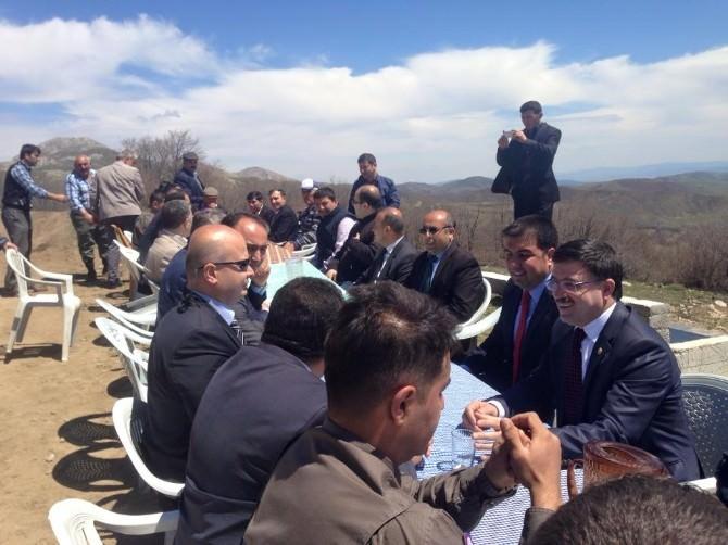 AK Parti Yozgat Milletvekili Başer, Kadışehri İlçesini Ziyaret Etti