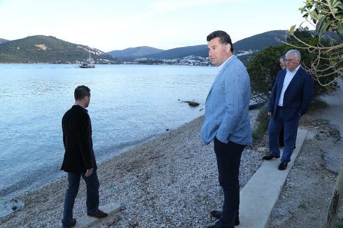Başkan Kocadon, Torba'da İncelemelerde Bulundu
