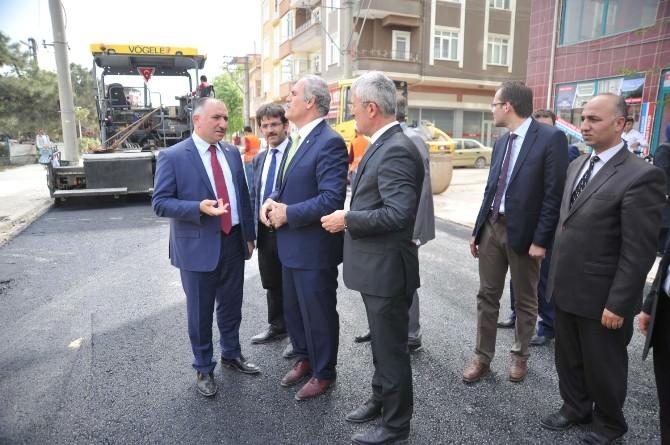 Başkan Altepe Orhangazi'de İncelemelerde Bulundu