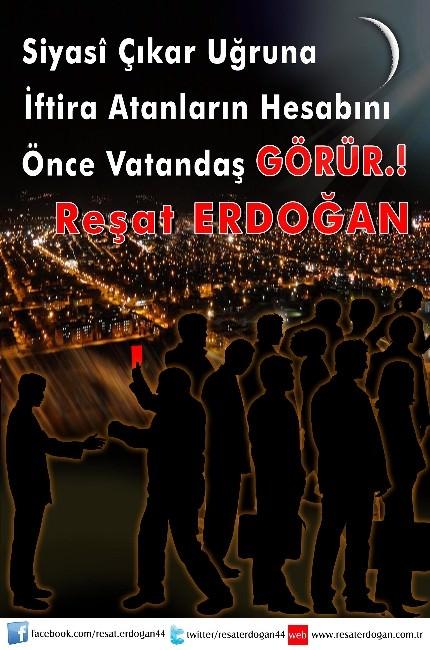 İşadamı Reşat Erdoğan'ın Mesajları Dikkat Çekti
