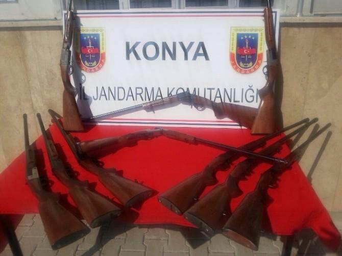 Beyşehir'de Yasa Dışı Av Tüfeği Üretimi İddiası