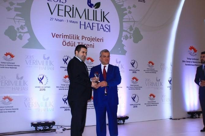 İnvest İn TR82 Projesine Verimlilik Ödülü Verildi