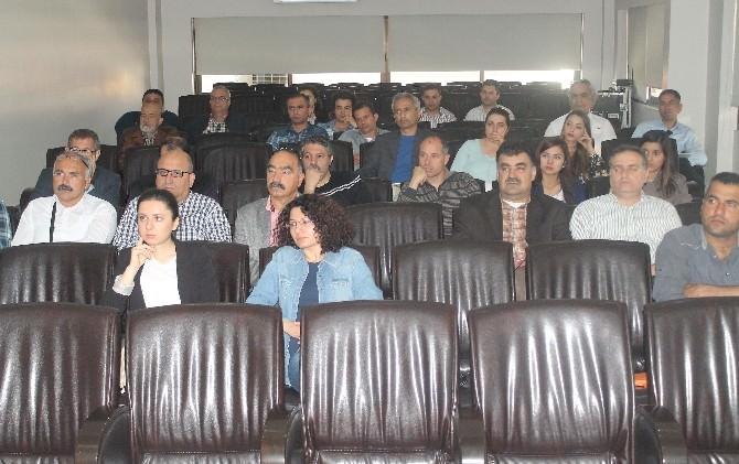 Mersin'de 'Yangın Ve Patlama Eğitimi'