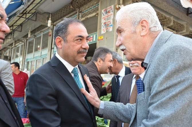 MHP'li Yıldız, Sorunları Dinledi, Çözüm Yollarını Anlattı