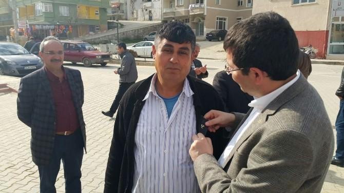 MHP Milletvekili Adayı Parsak Döğer'e Çıkarma Yaptı