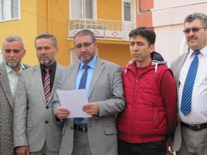 Nazif Kocaçoban, Hisarcık'taki Cami İmamlarına Sahip Çıktı