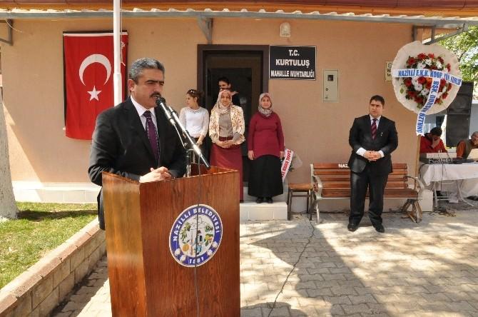 Nazilli'de 12. Muhtarlık Binasının Açılışı Gerçekleştirildi