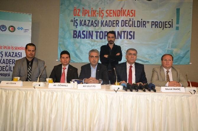 Öz İplik İş Sendikası Genel Başkanı Murat İnanç:
