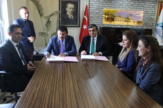 Eyyübiye Belediyesi Ve Aspim Ortak Protokol İmzaladı