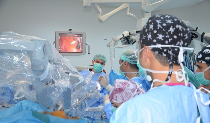 Da Vinci Robotik Cerrahi Sistemi Şanlıurfa'da