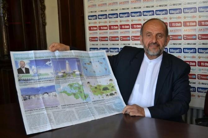 Mardin'e Trabzon'dan Bağımsız Aday