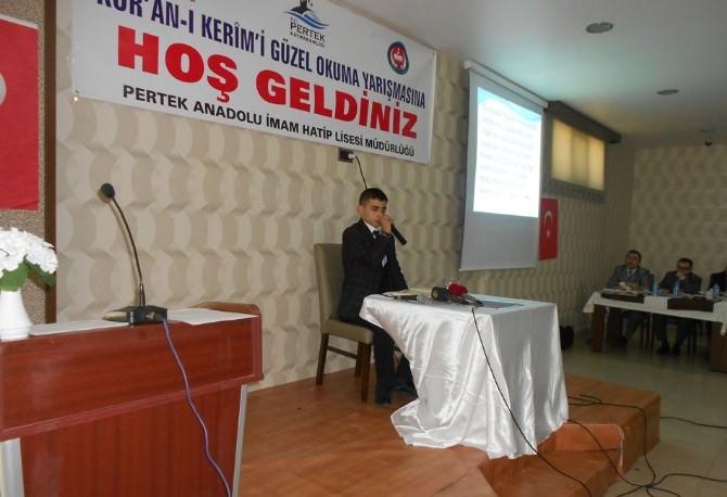 Tunceli'de Genç Sada Kur'an-ı Kerim'i Güzel Okuma Bölge Yarışması Düzenlendi