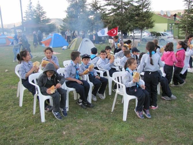 Yavrukurt İzci Ünitesi Öğrencileri Aileleriyle Piknikte Buluştu