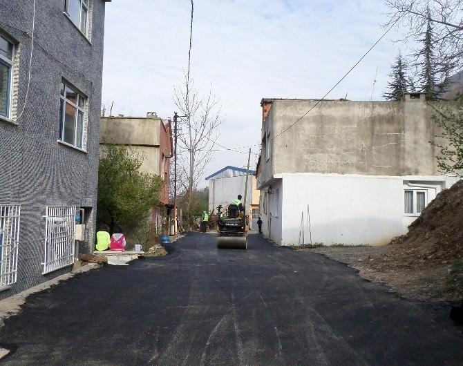 Yıldırım Sokaklarına 92 Bin Ton Asfalt