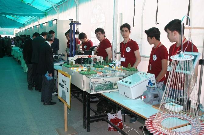 Yozgat Mimar Sinan Meslek Lisesi TÜBİTAK Bilim Fuarı Açıldı