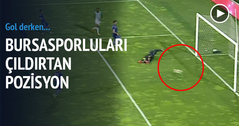 Bursaspor'un inanılmaz pozisyonu