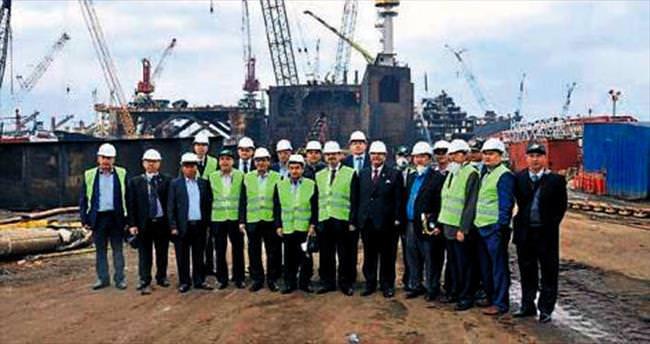 Vietnam heyeti gemi sökümde