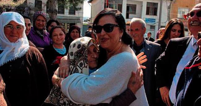 Muğla'da Türkan Şoray izdihamı
