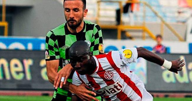 Antalyaspor'un kritik çarşambası