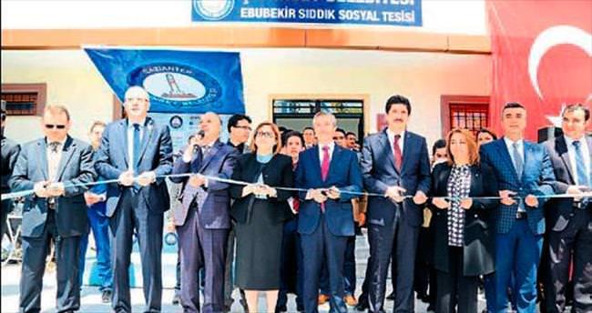 Şahinbey'de 68'inci sosyal tesis açıldı