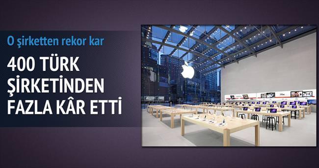 Apple, 400 Türk şirketinden fazla kâr etti