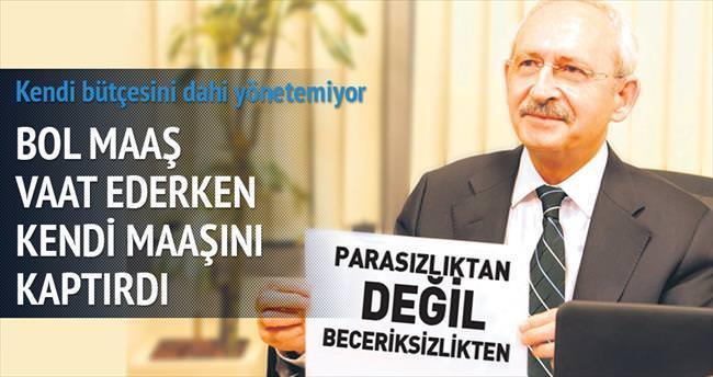 Kılıçdaroğlu'nun kaynağı kurudu